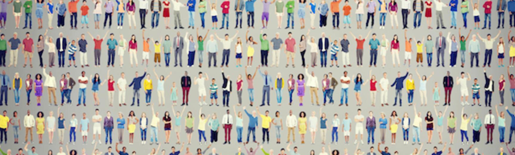 diverse people demographics